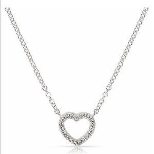 Tiffany & Co discontinued miniature diamond heart